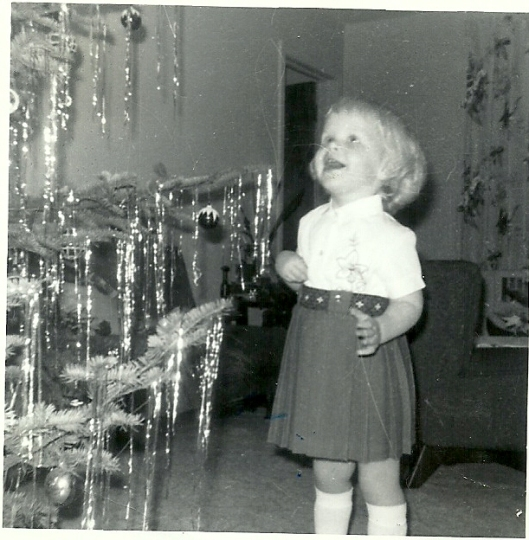 The first Christmas that I somewhat knew what was going on