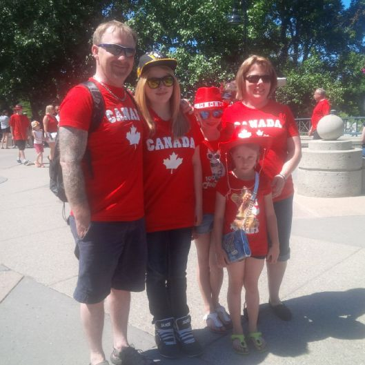 Oh Look! Another Canadian Family!